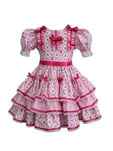 Vestido Infantil Junino