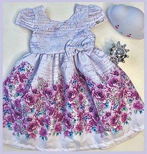 Vestido infantil Floral