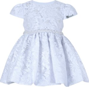 Vestido Infantil Batizado de Renda