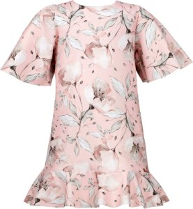 Vestido Juvenil de Malha com Estampa de Flores