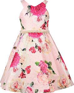 Vestido Juvenil Estampado Floral