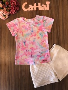 Conjunto Juvenil Tie Dye