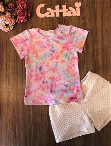 Conjunto Teen Tie Dye