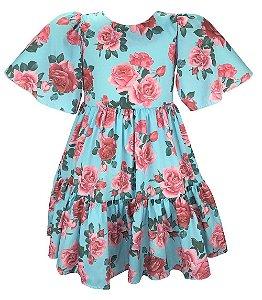 Vestido Teen  Estampa Floral