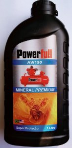 Óleo Mineral para Compressor de Pistão Embalagem 1 Litro