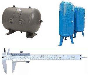 Reservatórios de Ar Comprimido Sob Medida