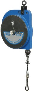 Balancim de Sustentação Retrátil Manual de Mola P8 de 4kg a 8kg com 2 metros de Cabo