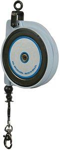 Balancim de Sustentação Retrátil Manual de Mola P0,5 de 0kg a 0,5kg com 2 metros de Cabo