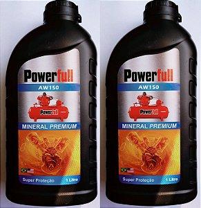 2lts Óleo Mineral 1000 Horas para Compressor de Pistão Pressure