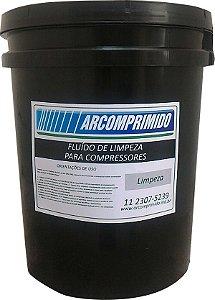 Fluído De Limpeza Para Compressor De Ar Comprimido 20l