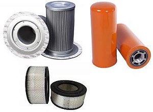 Kit De Filtros Para Compressor Ingersoll Rand Ssr Ep75