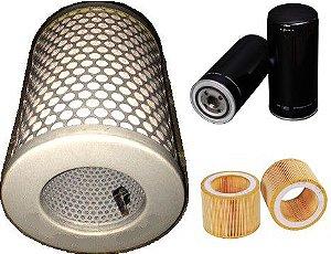 Kit De Filtros Para Compressor Rotativo Chiaperini Copa 30