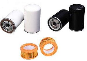 Kit De Filtros Para O Compressor Metalplan Rotorplus 010