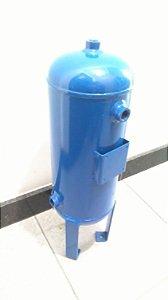 Reservatório Vertical Ar Comprimido 10 Lts Aço Carbono Pressão 12,3kg