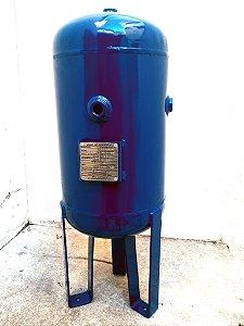 Reservatório Vertical Ar Comprimido 20 Lts Aço Carbono Pressão 12bar