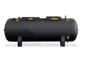 Reservatório Para Compressor De Pistão 250 Litros 175 Libras