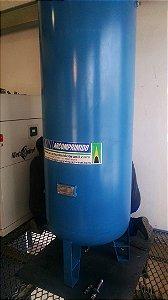Reservatório Vertical Ar Comprimido 1000l Aço Carbono 12,3kg