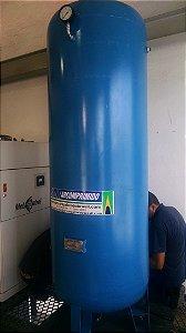 Reservatório Vertical Ar Comprimido 1000l Aço Carbono 7,5bar