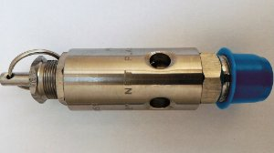 """Válvula de Segurança e Alívio 1/4"""" Aço Inox para 175lbs"""