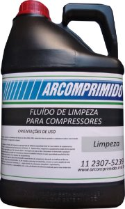 Fluído de Limpeza Similar ao Atlas Copco GA-0K Balde de 5L