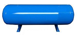 Reservatório Horizontal para Ar Comprimido 150L em Aço Carbono Pressão de Trabalho 12,3kg