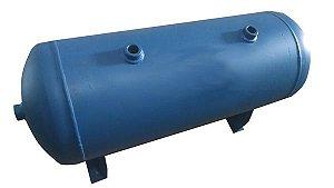 Reservatório Horizontal para Ar Comprimido 250L em Aço Carbono Pressão de Trabalho 12,3kg