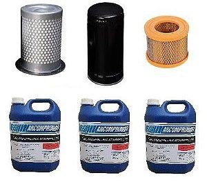 Kit Manutenção Preventiva Completa para Schulz SRP 3020 / SRP 3025 / SRP 3030