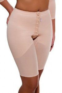 Cinta cintura normal, meia perna com abertura frontal 1311
