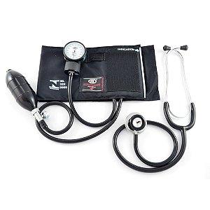 Aparelho de pressão - Kit Esfigmomanômetro e Estetoscópio BIC