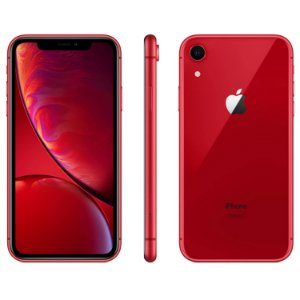 "iPhone XR Red Apple | Tela Retina 6,1"", 4G, 64GB e Câm. Dupla 12MP - Resistente à Água"