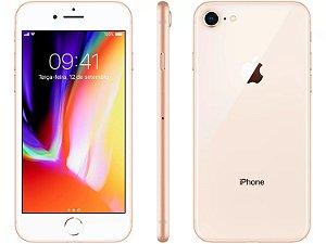 iPhone 8 Dourado 128gb Nacional Homologado - Garantia 1 ano
