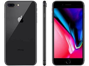 """iPhone 8 Plus Cinza Espacial Apple 128GB   Tela Retina 5,5"""" - Câm. Dupla 12MP - Resistente à Água"""