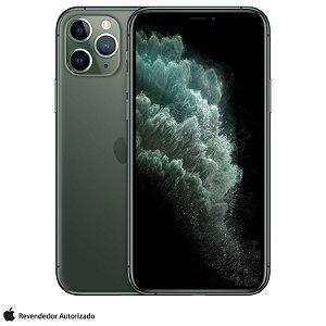 "iPhone 11 Pro Verde Meia-noite 512GB | Tela Super Retina 5,8"" - 4G, Câmera Dupla 12MP + Selfie 12MP"