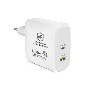 Carregador Turbo Defender para Macbook, Notebook e Smartphone - Gorila Shield