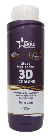 Magic Color Matizador Gloss 3D Ice Blond - Efeito Cinza