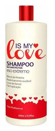 Is My Love Shampoo Alisante Reconstrutor Liso Extremo – 500ml