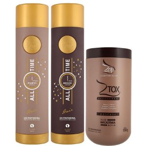 Zap All Time Kit Escova Progressiva + 1 BBtox Ztox Zap 950g  Original