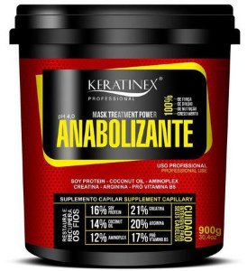 Anabolizante Capilar Keratinex 900gr