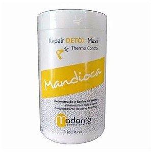 Madarrô Detox Mask Mandioca - Máscara Reconstrutora - 1kg
