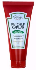 Ketchup Portier Gourmet  Capilar Mascara Fixação de cor 250g