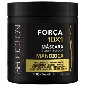 Mascara Fortalecedora Mandioca 10x1 - 500g  Seduction