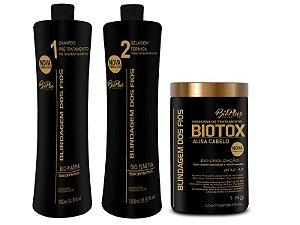 Semi Definitiva Blindagem Dos Fios 2X1lt + Bbtox 1kg