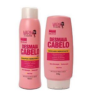 Kit Desmaia Cabelo Maria Escandalosa Shampoo E Máscara