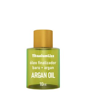 Titanium Liss Óleo de Argan + Baru 10ml