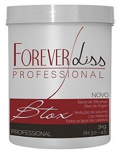 Forever Liss Btx  Capilar em Massa Argan Oil - 1kg