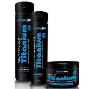 Kit Home Care Pós Progressiva Titanium Liss