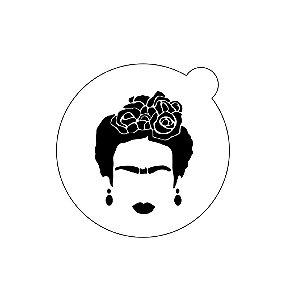 Stencil topo de bolo- Frida
