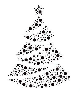 Marcador de biscoito - Árvore de Natal