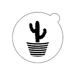 Stencil topo de bolo- Cacto