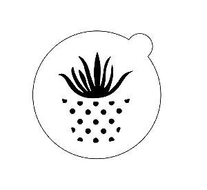 Stencil topo de bolo- Babosa